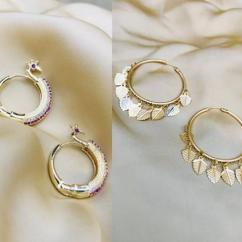Latest collection of earrings