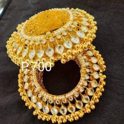 Kundan kada Wedding jewellery