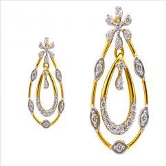 Diamond Earring for bride