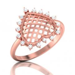 Heart of Diamond Ring