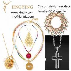 Custom necklace 18k gold