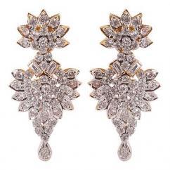Cubic Zerconia Fancy Earrings