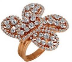 Diamond Cocktail Rings For Women - Kolkata