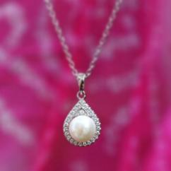 Real Pearl Necklace at Ornate Jewels - Pune