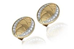 Buy Eric Cufflink Online with Diamond in India