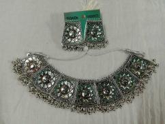 Oxidised Silver Jewel Set (Sun designed)
