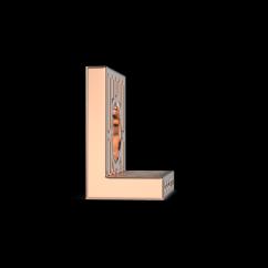 Alphabet L Charm for Sale