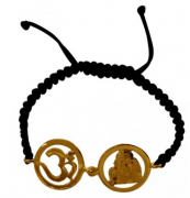 Om Sai Bracelet In Gold