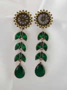 Unique oxidized earrings jewellery collection