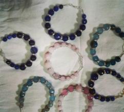 Colorful Onyx Bracelets