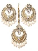 Designer Earrings With Pearls Available