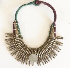 Neckpiece In Tribal Design Available
