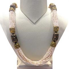 Moti Necklace In Royal Style