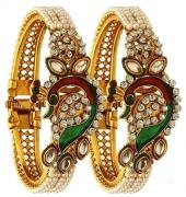 Very Very Beautiful Artificial Golden Kada Available