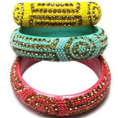 Designer Kada In Different Colours Available