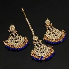 Designer Earring Set With Tika