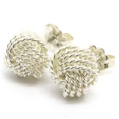 Earrings In Silver Color Available