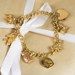 Beautiful Artificial Golden Bracelet Available