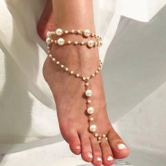 Beautiful Anklet With Colourful Stones