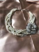 Pearl Necklace In Trendy Style