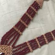 Neck set In Red Color