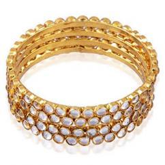 Kundan bracelet in recent design