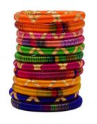 Multicolored Bangles in best rate