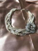 Pearl neck set in elegant Design