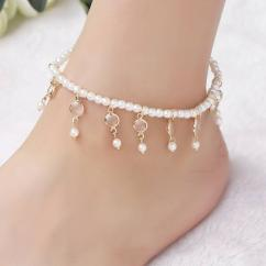 Anklet With pearls available
