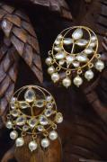 Kundan Earrings in very Excellent Design