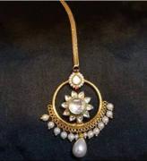 Beautiful Tika with pearl