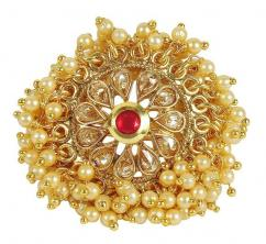 Kundan Ring In Awesome design
