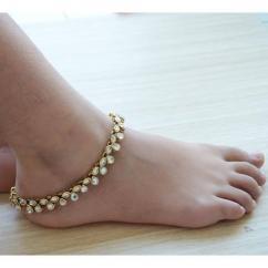 Kundan Anklet in elegant Design