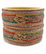 Very Beautiful Multicolored Kada set