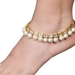 Beautiful Kundan Anklet