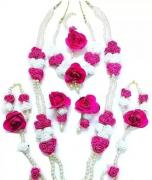 handmade artificial and floral jewellery