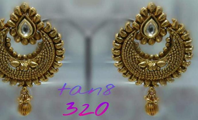 Copper Earingss  for sale