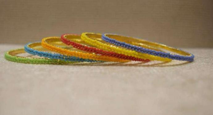 Multicoloured Bangles