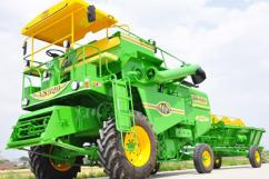 Leading combine manufacturers  Tractor driven combines  Businesszon