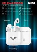 I12 TWS Bluetooth Wireless Earpods New Box Seal Pack