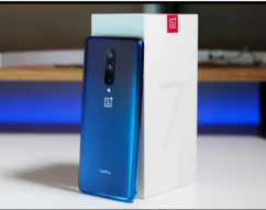 OnePlus 7 Pro 12gb 256gb Blue Colour with Bill Box & All Accessories.