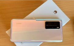 Huawei P40 Pro in Silver With Bill Huawei P40 Pro in Silver WBox All Accessories