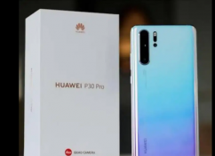 Huawei P30 Pro Breathing Crystal Color Available With Bill Box Charger