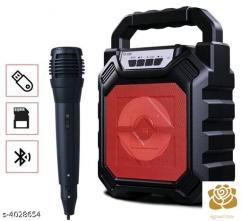 Bluetooth speaker with karaoke mic
