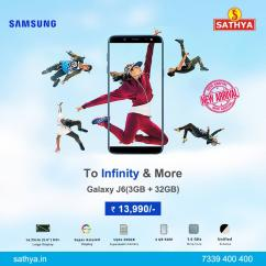 Buy Samsung Galaxy J6 at Offer Prices - Sathya Online Shopping