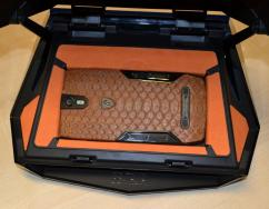 Tonino Lamborghini 88 Tauri Limited Edition Python Brown