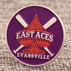 East Aces Baseball Pins