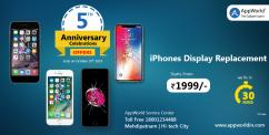 iPhone Display Replacement Offer at AppWorld