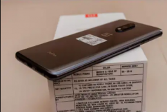 One plus 7 model with bill, box and all accessories