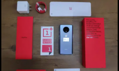 Glacier Blue Of Oneplus 7T available with warrantyGlacier Blue Of Oneplus 7T ava